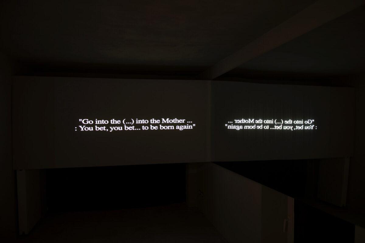 Lea Porsager - Anatta Experiment - mostra - Milano - 2020 - Futurdome - inedito